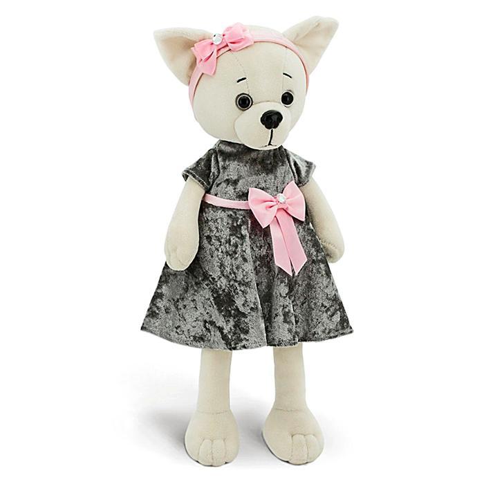 Мягкая игрушка «Lucky Lili: Благородный серый», 25 см