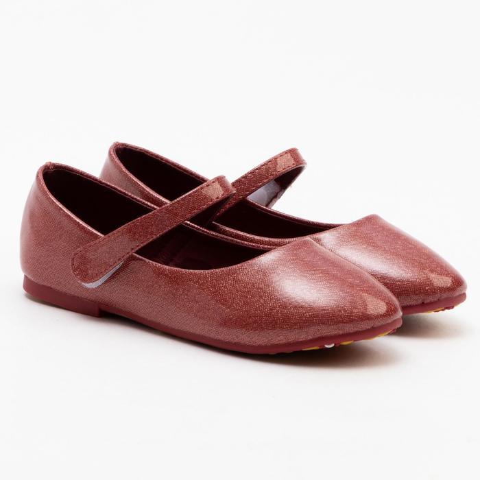 Туфли детские MINAKU, цвет красный, размер 26