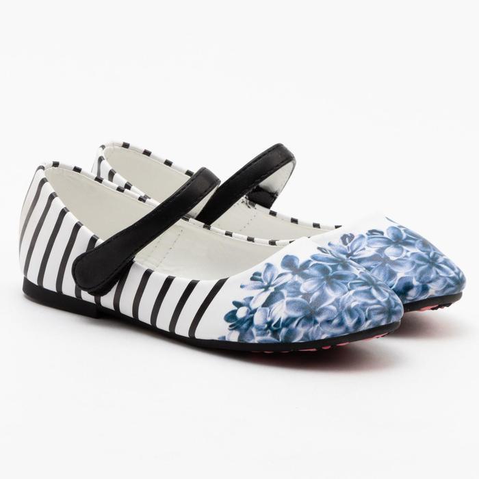 Туфли детские MINAKU, цвет синий, размер 27 - фото 1884060