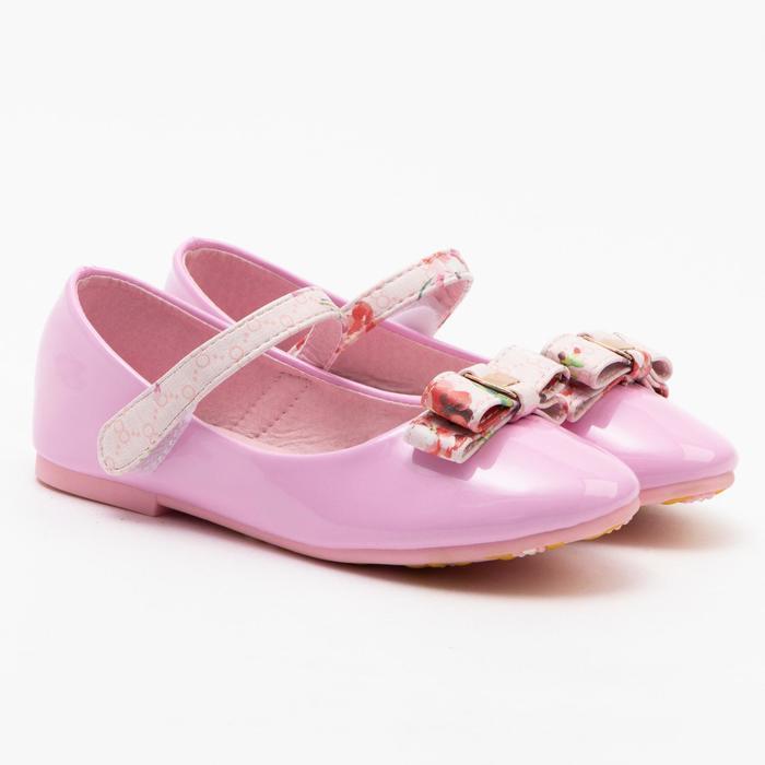 Туфли детские MINAKU, цвет розовый, размер 26