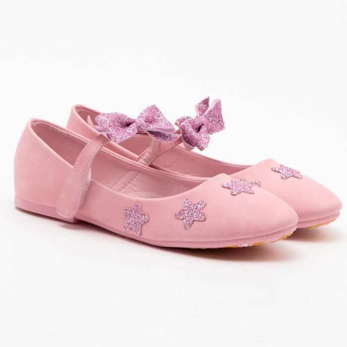 Туфли детские MINAKU, цвет розовый, размер 35 - фото 1884345