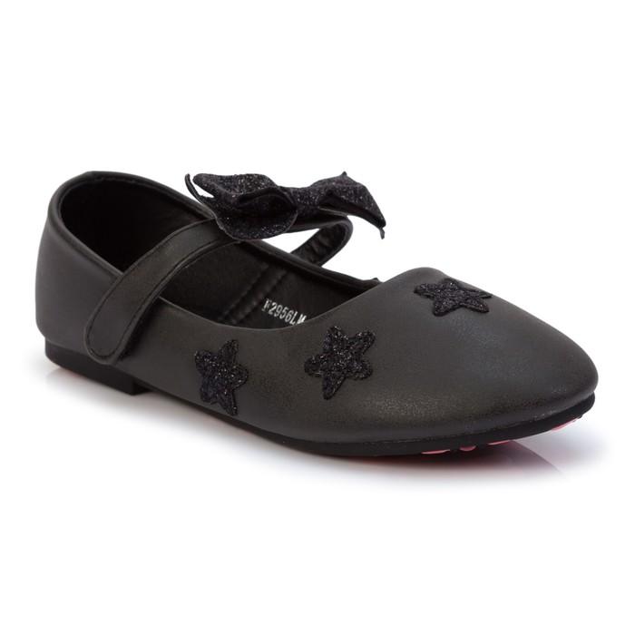 Туфли детские MINAKU, цвет чёрный, размер 30