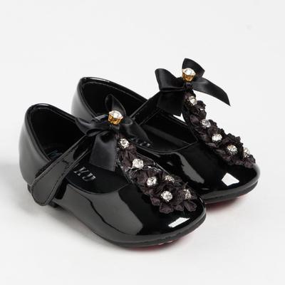 Shoes for girls 063 MINAKU black, R. 20