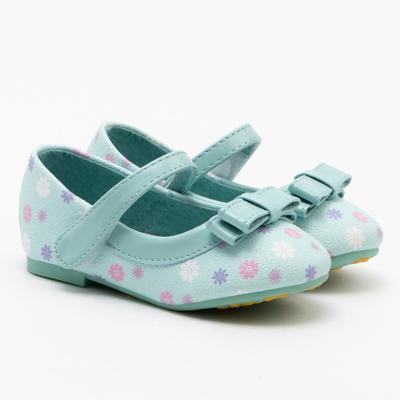 Туфли для девочки 669 MINAKU, р. 25, бирюза