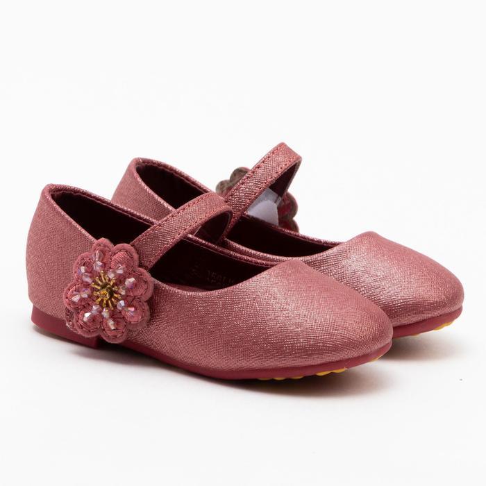 Туфли детские MINAKU, цвет бордо, размер 20