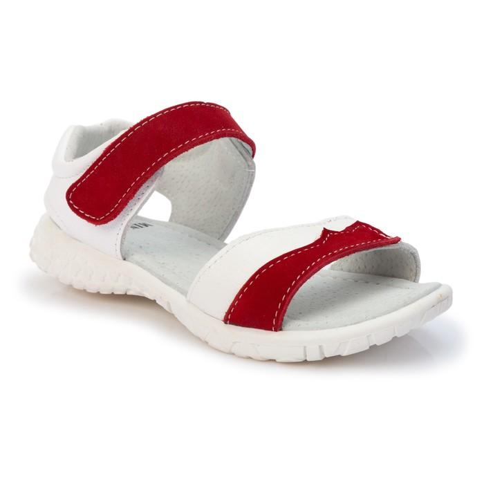 Сандалии детские MINAKU, цвет красный, размер 25