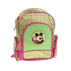 """Рюкзак школьный эргономичная спинка """"Маша и Медведь"""" EVA-спинкой, для девочки Маленькая Модница"""