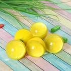 Мяч каучуковый «Лимон», 4,5 см