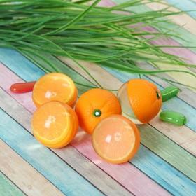 Мяч каучук 'Апельсин' 4*5 см Ош