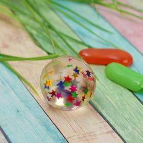 Мяч каучуковый «Звёзды», 3,2 см Ош