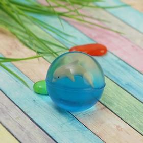 Мяч каучук 'Дельфин' 4*5 см Ош