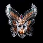 """Венецианская маска """"Бабочка"""" 27см   золото"""