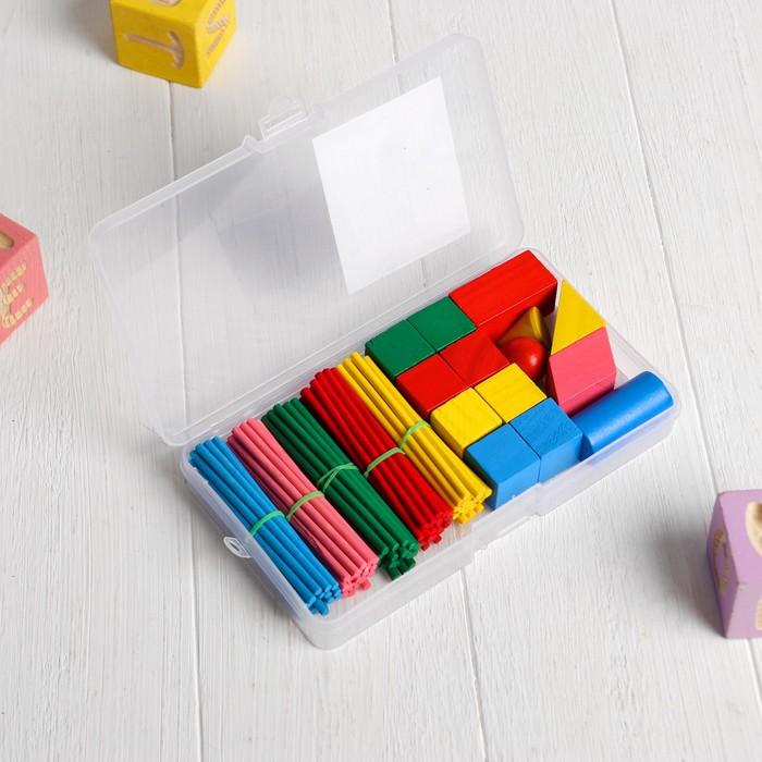 Счётный набор в пластиковой коробке - фото 2128298
