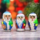 Ёлочная игрушка «Дед мороз» МИКС