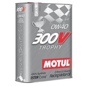 Моторное масло MOTUL 300 V Trophy 0W-40, 2 л Ош