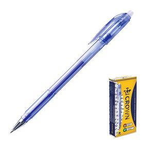 Ручка «Пиши-стирай» гелевая Crown Erasable Jel, узел 0.5 мм, чернила синие