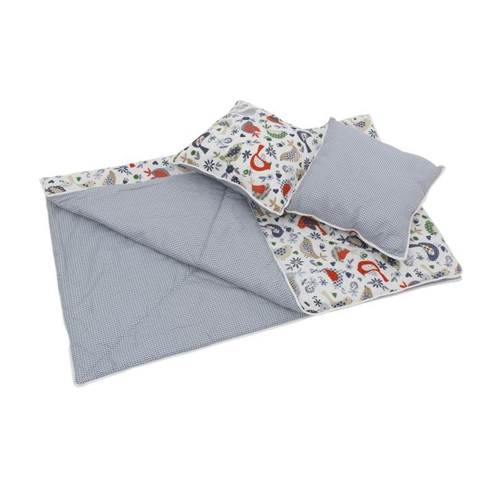 Комплект для вигвама: одеяло-110х140 см, наволочка-40х40 см-2 шт, кантри