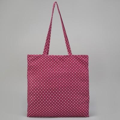 Сумка текстильная, отдел на молнии, без подклада, цвет розовый