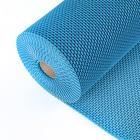 """Коврик с покрытием антискольжения h=4,5 мм, ш=0,9×10 м,""""Зиг-заг твист"""", цвет синий"""