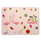 """Накладка на стол для творчества пластиковая 430*320 НПД-2 """"Фламинго"""""""