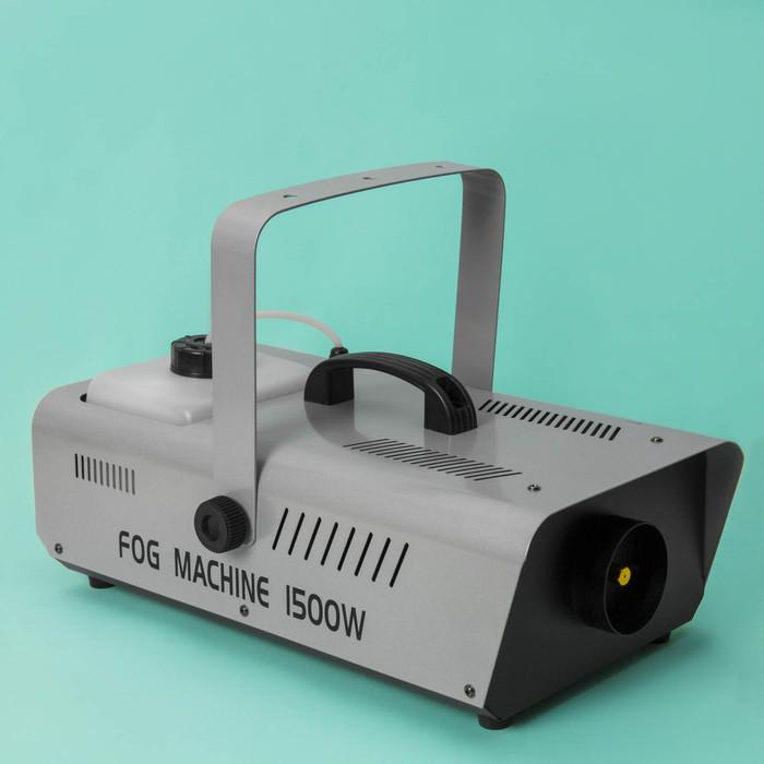 Дым-машина Luazon Lighting LPD-06, 1500 Вт, 220 В, пульт на проводе (3 м)
