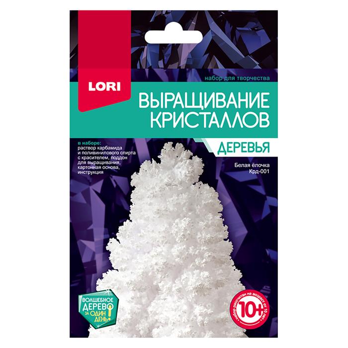 """Выращивание кристаллов.Деревья """"Белая ёлочка"""" Крд-001"""