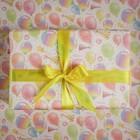 Бумага упаковочная крафтовая «Шарики», 50 × 70 см