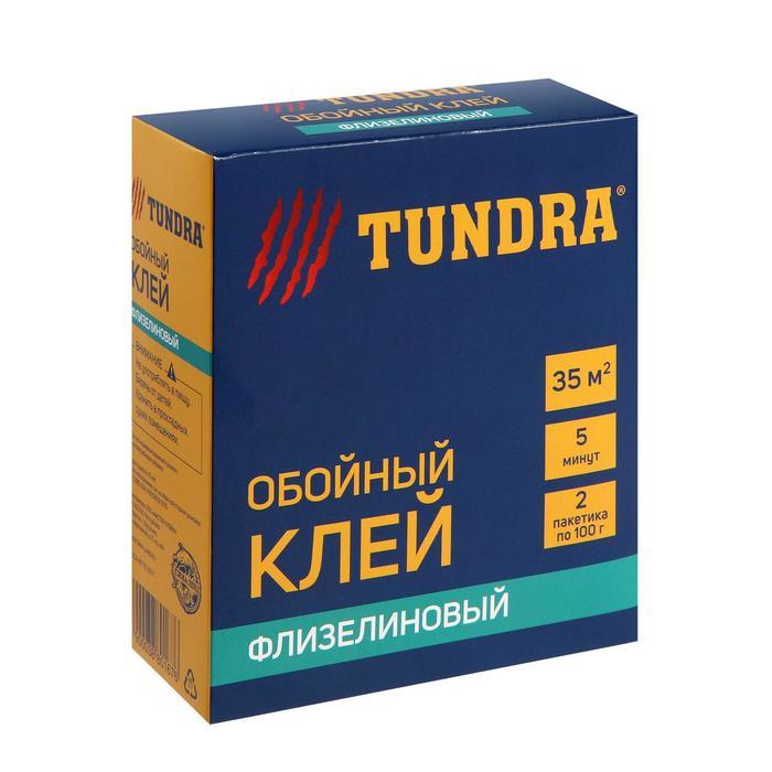 Клей обойный TUNDRA, для флизелиновых обоев, коробка, 200 г