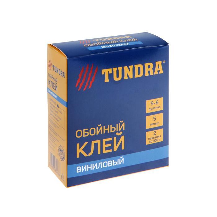 Клей обойный TUNDRA, для виниловых обоев, коробка, 200 г