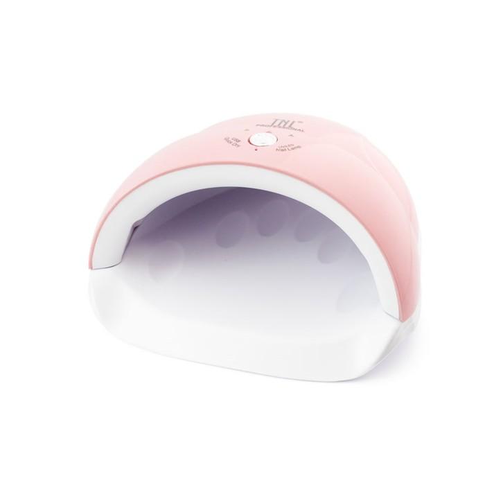 Лампа для гель-лака TNL Quick, UV/LED, 24 Вт, 5 диодов, таймер 30/60/90 сек, розовая