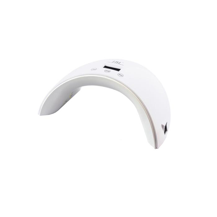 Лампа для гель-лака TNL Sense, UV/LED, 36 Вт, 12 диодов, таймер 30/60/90 сек, белая