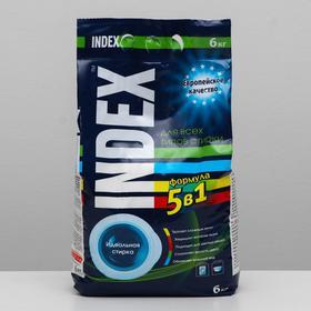 Стиральный порошок для всех типов стирки Index, 6 кг