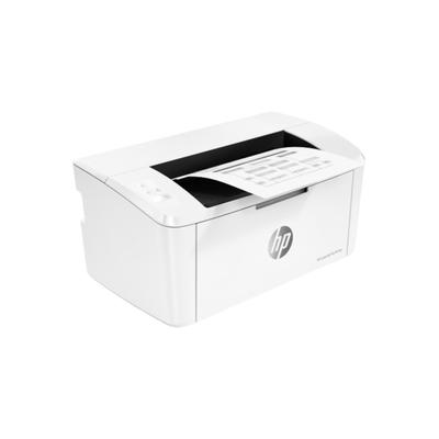 Принтер лазерный ч/б HP LaserJet Pro M15w, А4, печать до 600x600, Wi-Fi, до 120 г/м2, белый   409145