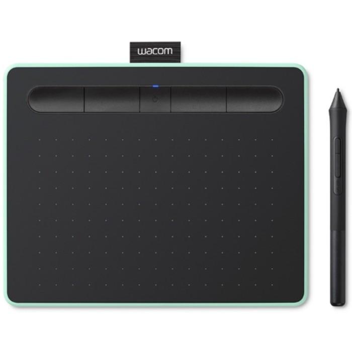 Графический планшет Wacom Intuos S Bluetooth, А6, цвет черный-фисташковый