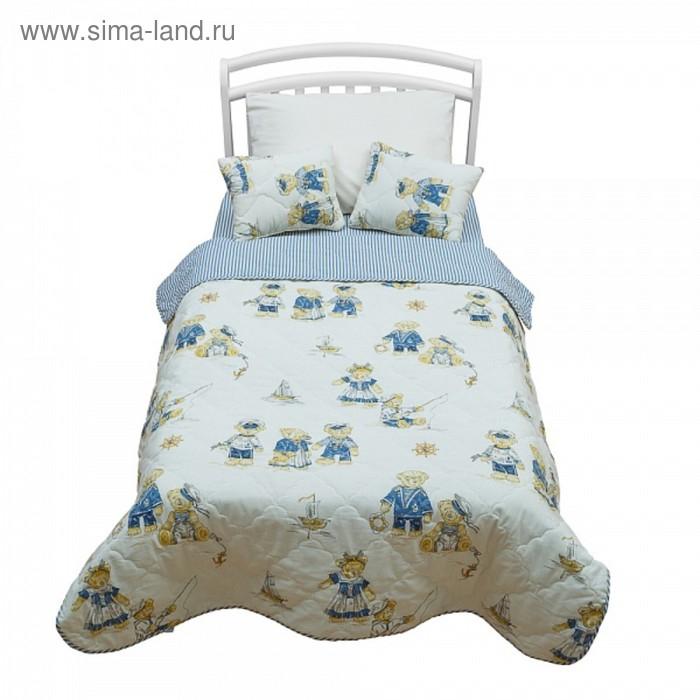 Комплект Orsetto kids: покрывало 110×170 см, подушки 30×40 см-2 шт
