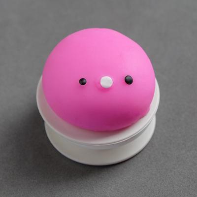 Мялка-антистресс «Птенчик», на липучке, цвета МИКС