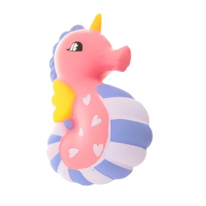 """Мялка-сквиши """"Морской конь"""" с рогом"""