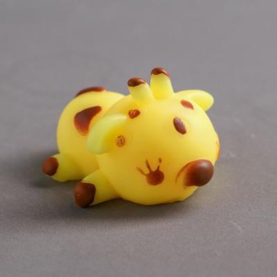 Мялка-антистресс «Жирафик», цвет жёлтый