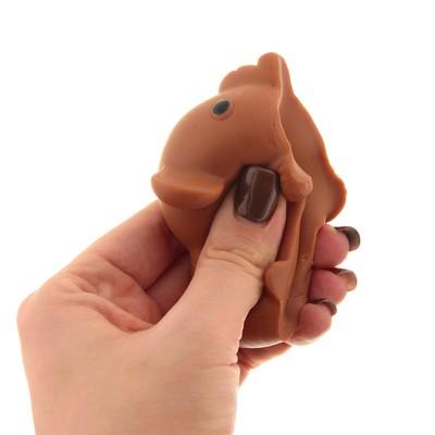 Мялка-антистресс «Слоник», цвет коричневый