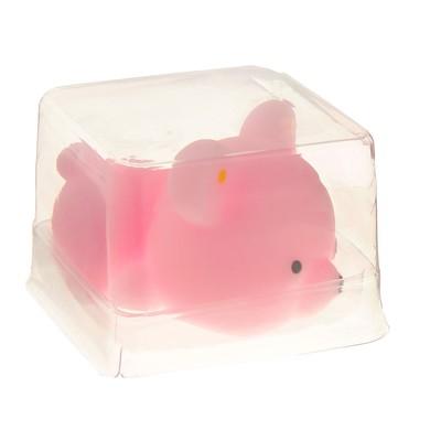 Мялка-антистресс «Мишка», цвет розовый
