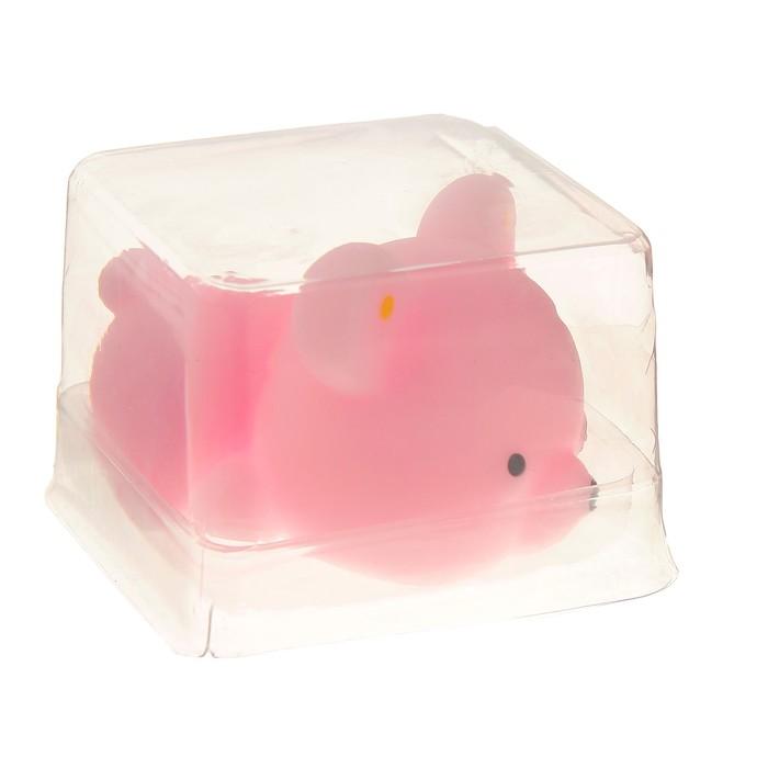 """Мялка-антистресс """"Мишка"""", цвет розовый"""
