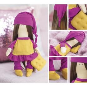 Интерьерная кукла «Сьюзен», набор для шитья, 18 × 22.5 × 2 см