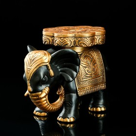 "Статуэтка ""Слон №5"" большой 29 х 25 см чёрный"