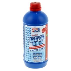 Средство для сточного бака биотуалета Pro blue 1л