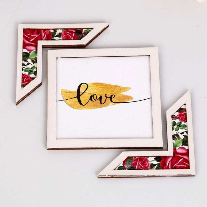 """Подставка для аксессуаров """"Love"""" розы - фото 418285654"""
