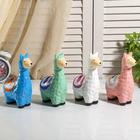 "Piggy Bank ceramic ""Lama"" MIX 18,5х11х6,5 cm"