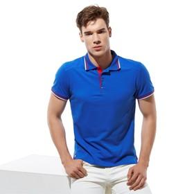 Рубашка унисекс, размер 50, цвет синий