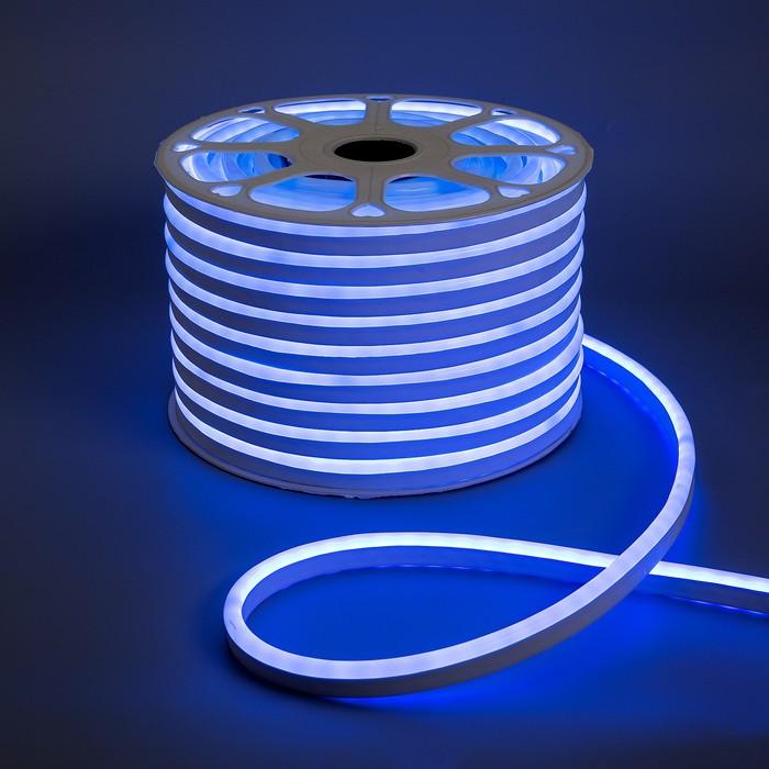 Гибкий неон 8 х 16 мм, 50 метров, LED-80-SMD5050, 24 V, RGB