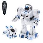 Робот радиоуправляемый, умеет трансформироваться, танцует под 3 весёлые мелодии, световые эффекты, двигается в разных направлениях
