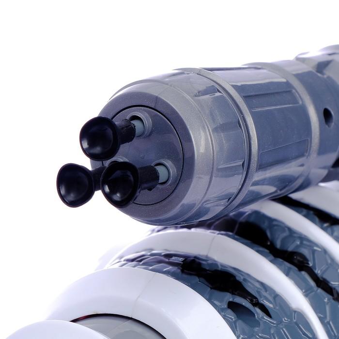 Робот интерактивный, радиоуправляемый «Тирекс», световые и звуковые эффекты, работает от аккумулятора